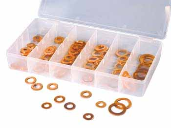 ATD 110 pc. Copper SAE O-ring Washer Assortment Kit 359