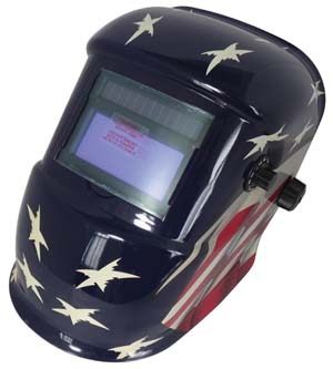 ATD-3716 Solar Auto-Darkening Welding Helmet with XL View Lens