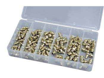 ATD 110 pc. Hydraulic Grease Zerk Fitting Assortment 357