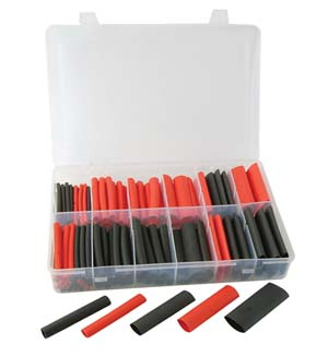 ATD-394 ATD 394 115 Pc. Dual Wall Heat Shrink Tube Assortment Kit