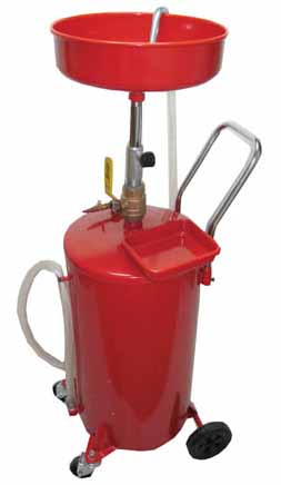 Atd 5200 Atd 18 Gallon Self Evacuating Oil Drain