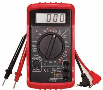 ATD Digital Multimeter with 19 ranges