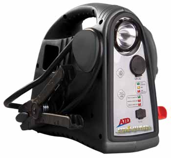 ATD-5900 12V Lithium Powered Cordless Rechargeable Jumpstart Unit