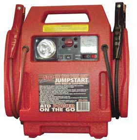 ATD-5926 ATD Tools 5926 12v/1700 Peak Amp Jumpstarter with Air Compressor