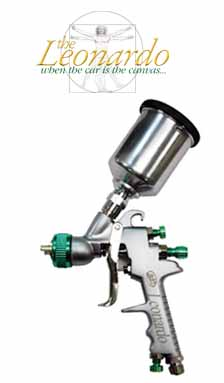 Leonardo HVLP 1.0mm Touch Up Gun