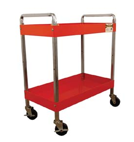 2-Shelf Heavy-Duty Service Cart ATD