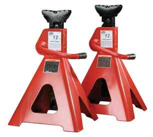 1 Pair 12 ton Professional Jack Stands