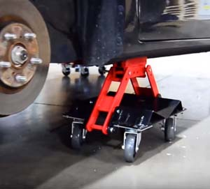 ATD-7469 ATD 7469 Heavy Duty Convertible Car Dolly Set