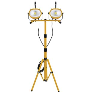 ATD-80421 ATD 80421 35-Watt COB LED Saber Double Work Light with Tripod Stand