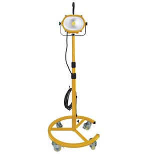 ATD-80422 ATD 80422 35-Watt COB Saber LED Work Light with Wheeled Stand
