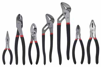 ATD-827 ATD 827 7 Pc. Mechanic's Pliers Set