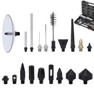 4 and 13 in ATD Tools  ATD-8738 2 Pieces Pistol-Grip Air Blow Gun Set