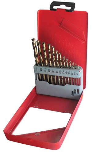 ATD-9260 ATD 9260 13 Pc. Cobalt Drill Bit Set