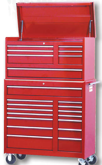 ATD-TB62RD ATD 41 Tool Storage Combo Roller Cabinet