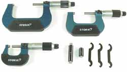CEN-3M113 Central Tools Storm 3M113 0-3 Micrometer Set