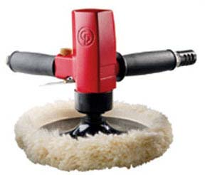CP-9166 Chicago Pneumatic 1hp 2,100 Rpm Heavy Duty Vertical Air Polisher