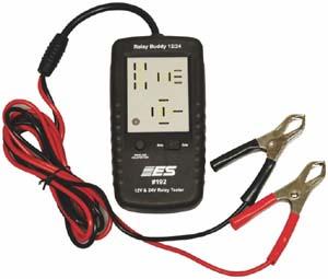 esi 192 diagnostic relay buddy 12 24v relay tester