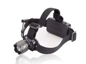 EZR-CT4205 EZ Red CT4205 Caterpillar Rechargeable Focusing Headlamp