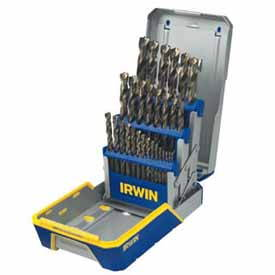 HAN-3018006 Hanson Irwin 29pc. Reduced Shank Drill Bit Set