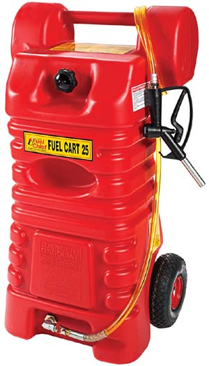 JDI-FC-25PFC John Dow FC-25PFC 25 gal Gas Caddy Fuel Cart