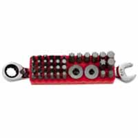 KDT-9537NN 37pc. Access Bit Set with 1/2 Reversible Ratcheting Wrench KD 9537NN