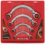 KDT-9840 Gearwrench Half Moon Reversible Fractional Wrench Set