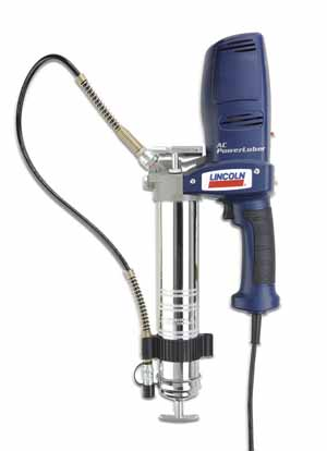 LNI-AC2440 Lincoln AC2440 Power Luber 120 Volt Corded Grease Gun