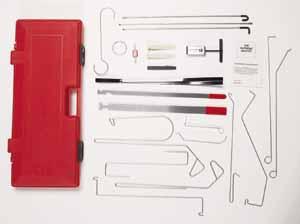 Loc 1000 Supreme Master Automotive Lock Pick Kit Lockout