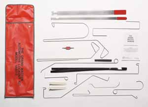 LOC-500 Lock Picks 15 PC. Grand Master Automotive Lockout Kit