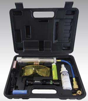 MST-53451-110 Mastercool Rechargeable UV Flashlight Kit