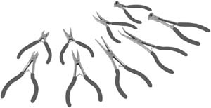 PLT-99769 Platinum 99769 9pc. Mini and Long Reach Mini Pliers Set