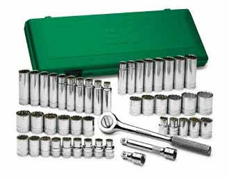 SKT-4147 SK 4147 47pc. 1/2 Dr. 12pt. Socket Set