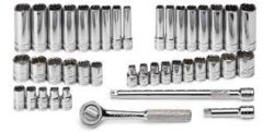 SKT-91844-12 SK Socket Set 1/4 Dr. 12pt. SAE and Metric