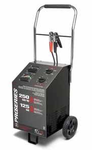 SMC-PSW2550 Shumacher DSR Pro Series 6/12V Wheeled Battery Charger
