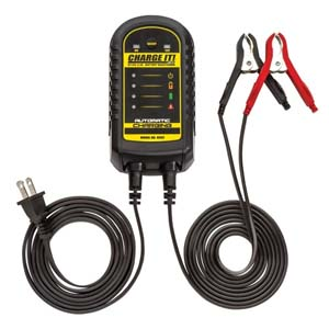 SOL-4502 Clore 4502 6/12 Volt 2.5A Battery Smart Charger