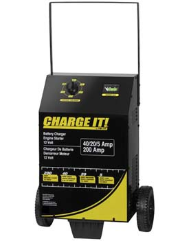 SOL-4725 Solar 4725 Wheeled Battery Charger