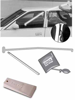 STK-32955 Lockout Pick Kit by Steck Professional BigEasy  Glo