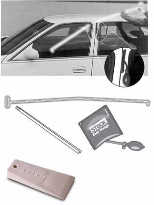STK-32955 Lockout Pick Kit by Steck Professional BigEasy Glo