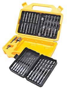 TIT-16048 Titan 48pc. Quick Diconnect Power and Drill Bit Set