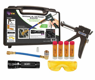 UVW-332005 Uview Spotgun Jr / UV Phazer Black  Kit