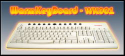V8T-WK001 Heated Computer Keyboard by V8 Tools