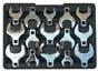 PLT-99370 Platinum 99370 15 Pc. SAE 1/2 Drive Jumbo Crowfoot Wrench Set