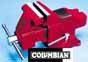 CBN-36446 COLUMBIAN 6  Professional Shop Vise pipe capacity 3/8 - 2-3/4