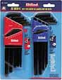 EK-10222 Eklind 22pc. Long Arm Hex L Key Set Fractional and Metric