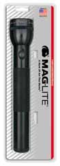 MAG-S3D016 MAGLITE 3D Cell Flashlight Black