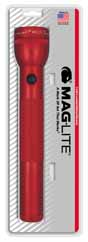 MAG-S3D036 MAGLITE 3D Cell Flashlight Red