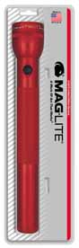 MAG-S4D036 Maglite 4D Cell Flashlight Red