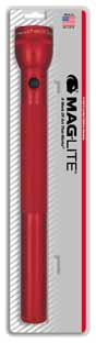 MAG-S5D036 MAGLITE 5D Cell Flashlight Red