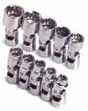 SKT-1336 SK Tool 1336 10 Pc. 1/4 Dr. 12 pt. 5-14mm Flex Socket Set