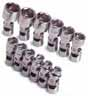 SKT-1337 SK Tools 1337 12 Pc. 1/4 Dr. 6 pt. 5-15mm W/5.5mm Flex Socket Set